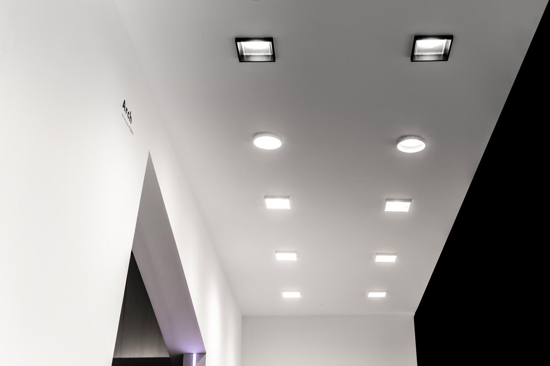 Luminarias Arch de Fluvia en Interirhotel